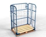 Gitteraufsatzrahmen für Paletten von treplog® GmbH